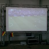 Leinwand für Public Viewing